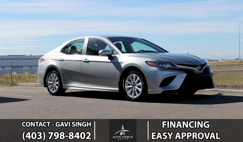 2021 Toyota Camry | SE | Leather Int. | Camera | Sports Skirting | Warranty | *ONE YEAR FREE OIL CHANGE* full
